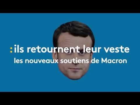 Après l'avoir conspué, ils appellent à voter Macron - franceinfo