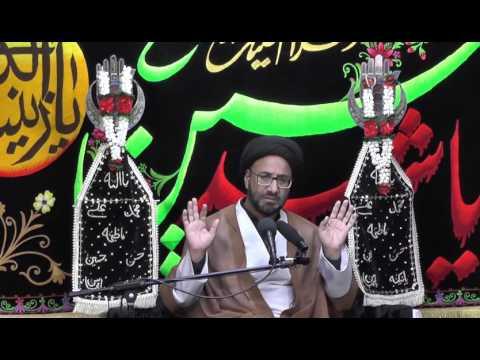 Majlis-Shab-e-Ashoor 1438 By Maulana Syed Moosa Raza Naqvi In Darbar-e-Masoomeen.