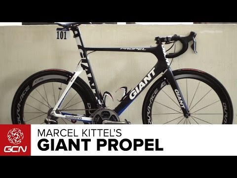 Marcel Kittel's Giant Propel Advanced SL
