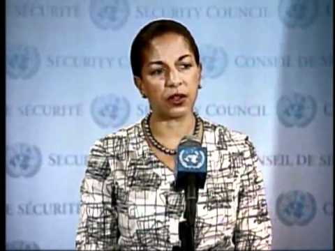 Ambassador Rice Comments on Syria Before a UN Security Council Vote