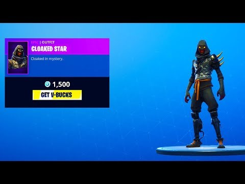 "NEW! EPIC ""CLOAKED STAR"" SKIN OUT NOW! INTENSITY IS BACK! FORTNITE DAILY ITEM SHOP! thumbnail"