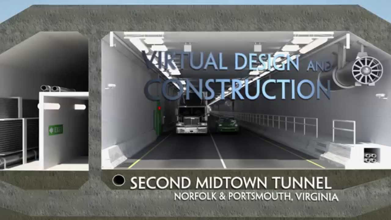 Midtown Tunnel Underwater Second Midtown Tunnel Norfolk