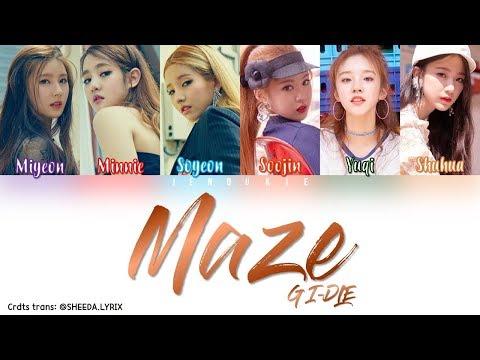 (G)I-DLE ((여자) 아이들) - 'Maze' [Color Coded Lyrics] Han|Rom|Eng