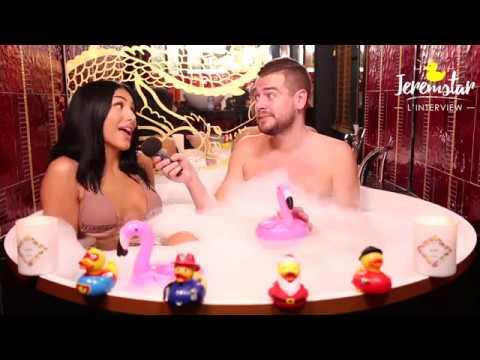 Leana (Les Princes et Princesses de l'Amour 5) dans le bain de Jeremstar - INTERVIEW