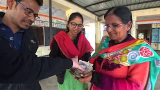 Indian refuses $1000, shares with school