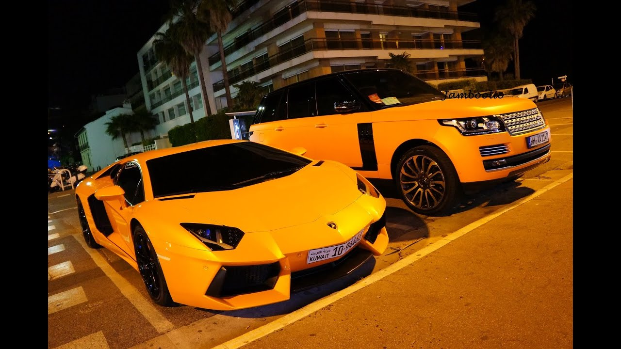 Part 1 Epic Orange Duo Lamborghini Aventador Amp Range