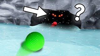 SECRET ICE CAVE AREA! (Golf It)