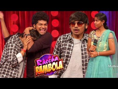 Raccha Rambola Stand-up Comedy show 61 - Jabardasth Rocking Rakesh Skit - Mallemalatv