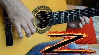 Download The Mask of Zorro theme - Fingerstyle Guitar (Marcos Kaiser) #102 3Gp Mp4