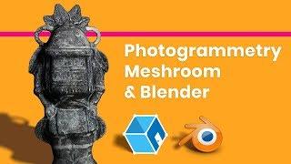Photogrammetry in Meshroom & Blender