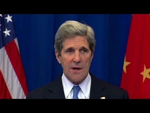 Kerry visits China amid N. Korea tensions