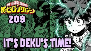 What Will DEKU Do? | My Hero Academia Chapter 209 Review