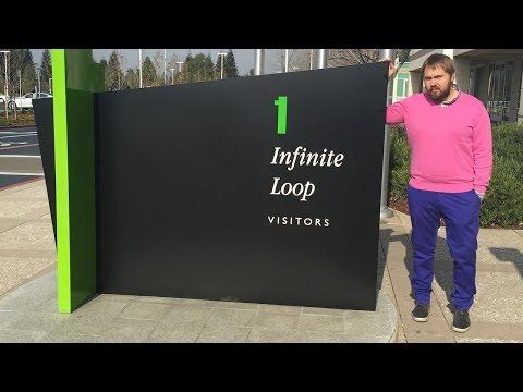 #iPhoneVlogChallenge - влог на iPhone: Apple HQ