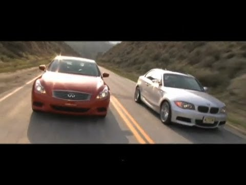 BMW 135i vs. Infiniti G37S from WINDING ROAD Magazine