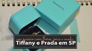 Um passeio com flores e joias  na Tiffany e moda com Lilian Pacce na Prada
