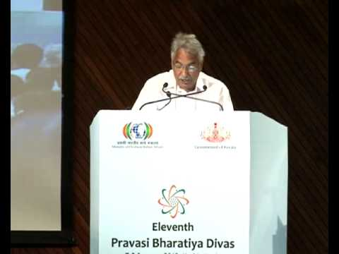 Pravasi Bharathiya Divas- Inauguration Ceremony-Kerala Chief Minister Shri.Oommen Chandy's Speech
