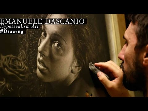 Hyperrealism - Drawing made by Emanuele Dascanio - Rosa Rùtila - 250 hours