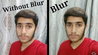 Auto blur camera app click picture like DSLR in one second