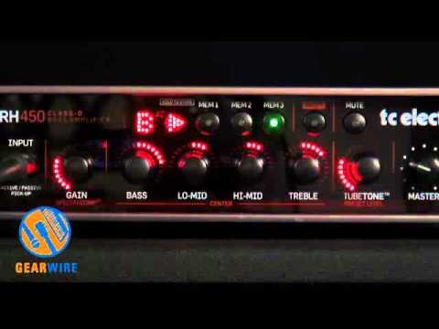 TC Electronic RH450 RebelHead Bass Amplifier Walkthrough (Video)