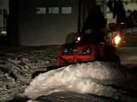 Kubota BX Quick Attachment Snow Plow