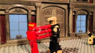 the superman chronicles ep 8 justice league war minimates stopmotion lego darkseid batman flash