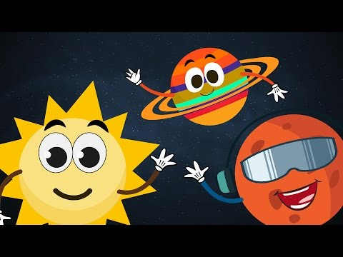 The Planet Song ☀ ☽ 🌎   The Solar System Song ☀ ☽ 🌎   Planets Song for Children with Lyrics ☀ ☽ 🌎
