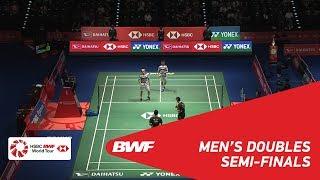 SF   MD   GIDEON/SUKAMULJO (INA) [1] vs HE/TAN (CHN)   BWF 2018