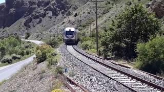 TCDD MT 15 002 DMU Raybüs Sivas Cihetine Doğru