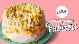 How To Make A Passionfruit Pavlova - The Scran Line