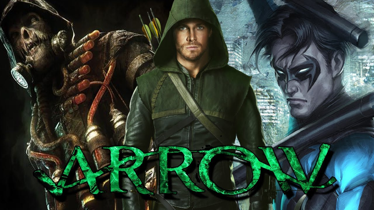 Arrow Season 3 | Four New Characters! NIGHTWING and SCARECROW? - YouTube