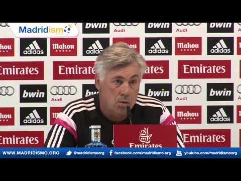 Rueda de prensa de Carlo Ancelotti, previa Real Madrid - Deportivo de la Coruña