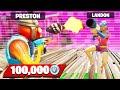 1v1 Zone Wars Challenge vs LANDON for 100,000 VBUCKS!