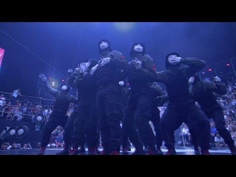 Jabbawockeez & Super Cr3w At Red Bull Bc One Finals Brazil video