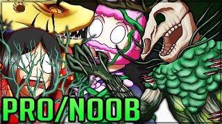 ANCIENT LESHEN LESSON - New Monster - Pro and Noob VS Monster Hunter World Multiplayer! #mhw
