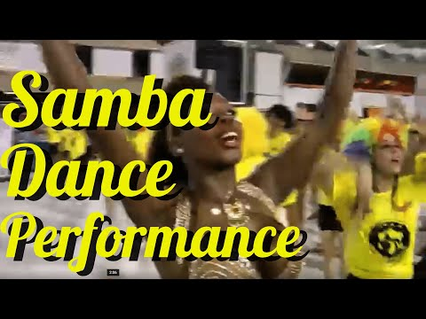 BRAZILIAN SAMBA DANCE PERFORMANCE:  3 SAMBA DANCE VIDEOS WITH TOP INSTRUCTOR EGILI FROM BRAZIL