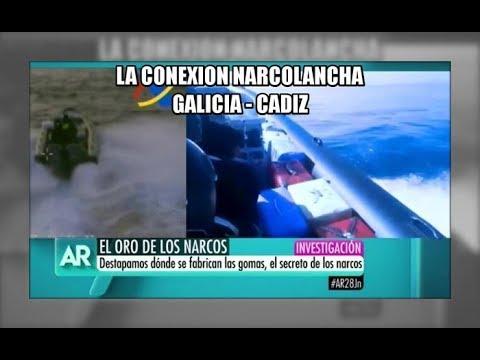 La conexion narcolancha: Galicia con Cadiz - Aduanas SVA