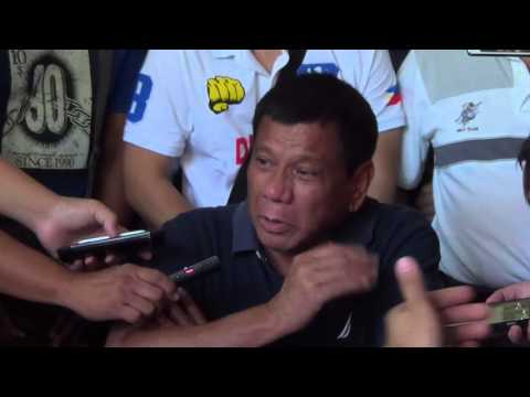 Duterte to Trillanes: File a case, I'll open my bank accounts