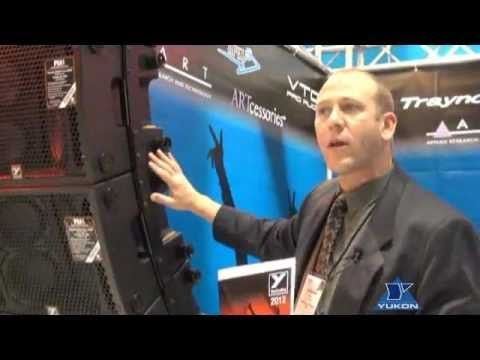 Yorkville PSA1 array speaker system at NAMM.avi