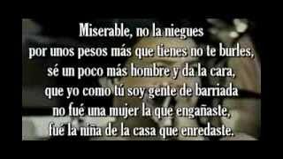 Miserable _ Grupo Niche   Letra x  javiercito.