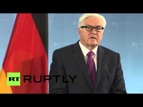 Germany: Steinmeier questions Trump's 'America First' policy