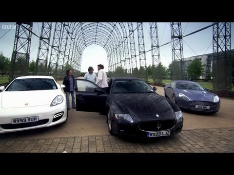 Four door supercars - Top Gear - BBC Music Videos
