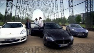 Four Door Supercars - Top Gear - Series 15 - BBC