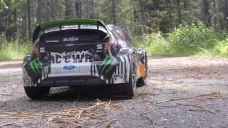 RC CWR Rally Time with the Traxxas 1/16 Ken Block rally car