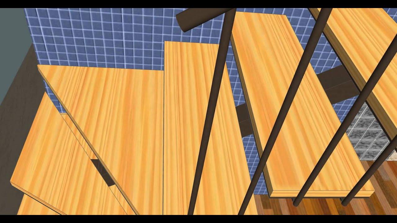 Escalera mueble carpinteria santa clara youtube - Carpinteria santa clara ...