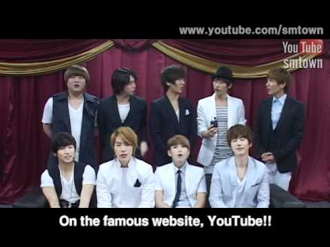 YOUTUBE SMTOWN OPEN INTERVIEW.(BY Super Junior)