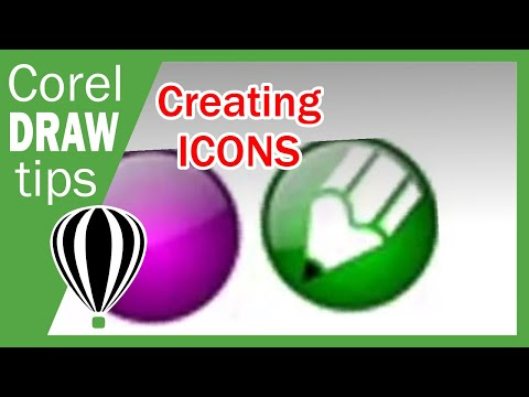 Making icons in Coreldraw