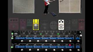 TheGigRig Pro-14 Demo - Boss CE1, Lovepedal Eternity, Duo Fuzz, Memory Man