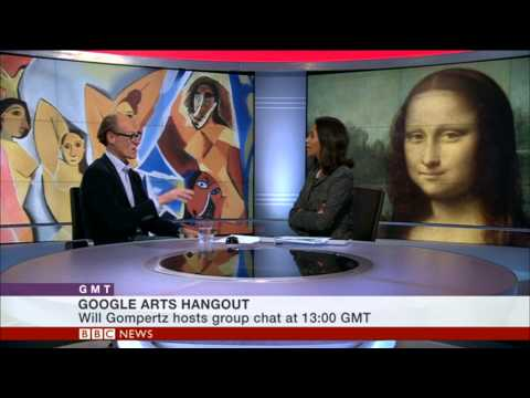 WHAT MAKES ART ICONIC? -WILL GOMPERTZ GOOGLE HANGOUT PROMO - BBC WORLD NEWS