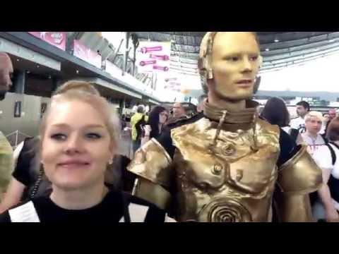 Rundgang über die Comic Con Stuttgart 2016!