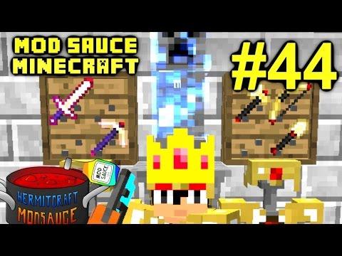 Minecraft Mod Sauce Ep. 44 Flux Tool Mods HermitCraft Modded Minecraft